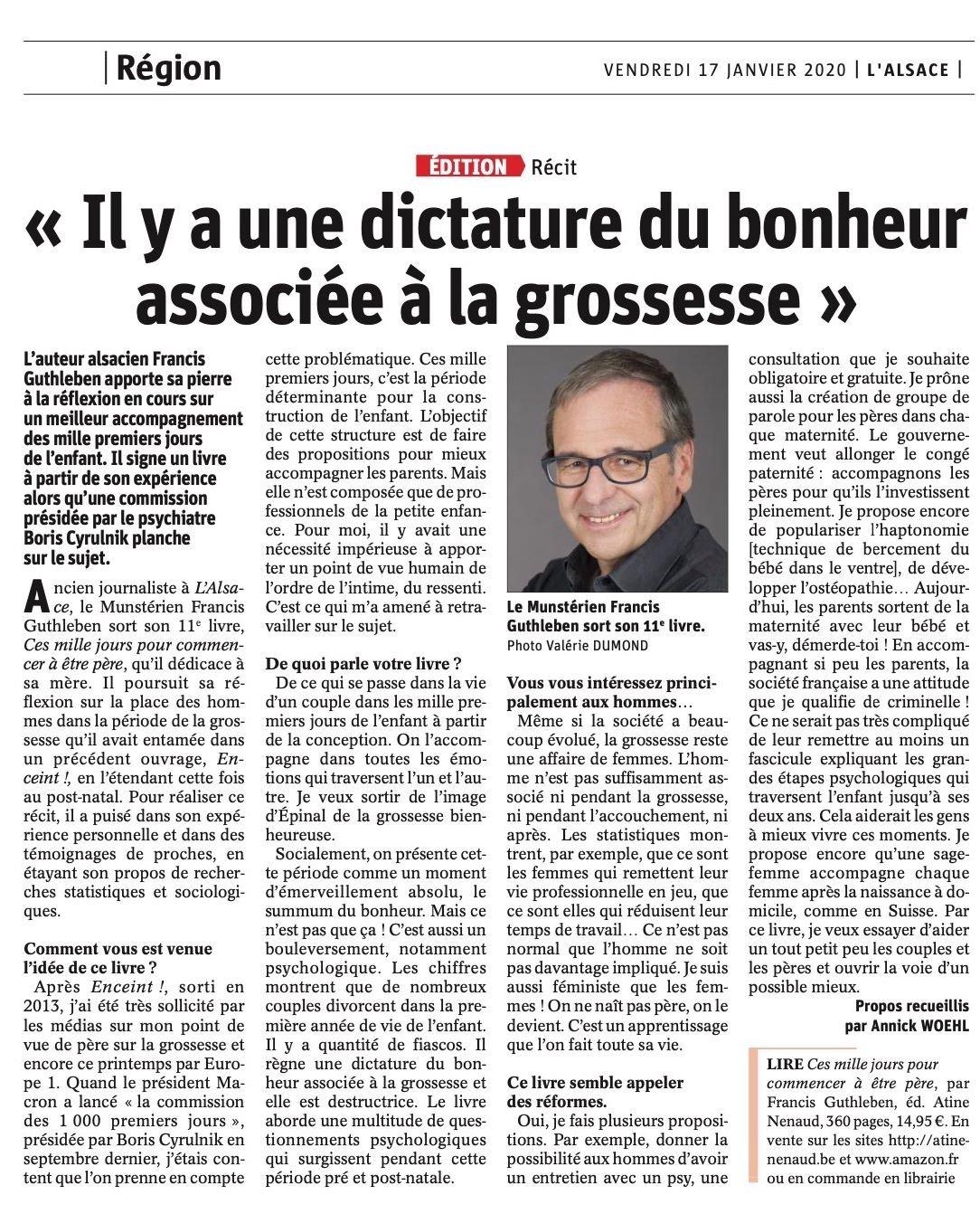 Article Alsace 1000